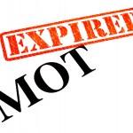 MOT EXPIRED — Stock Photo