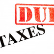 Photo: Taxes DUE