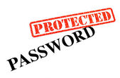 Password PROTECTED — Stockfoto