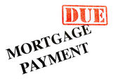 Mortgage Payment DUE — Stock Photo
