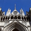 Stock Photo: The Royal Courts of Justice in London