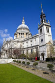 St. Paul's Cathedral and the Tower of the Former St. Augustine C — Stock Photo