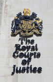 The Royal Courts of Justice in London — Stock Photo
