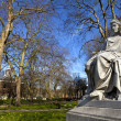 Sarah Siddons Statue on Paddington Green - Stock Photo