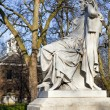 Sarah Siddons Statue on Paddington Green — Foto Stock