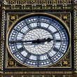 Big Ben Clock Face Detail in London — Stock Photo