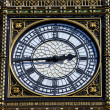 Stock Photo: Big Ben Clock Face Detail in London