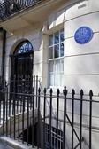 John Lennon Blue Plaque in London — Stock Photo