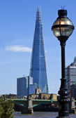 View of the Shard in London — Stock Photo