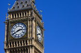 The Clock-Face of Big Ben in London — Stock Photo