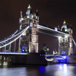 Tower Bridge at Night — Stock Photo #25618709