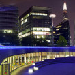 London Panorama at Night — Stock Photo