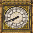 Big Ben (Houses of Parliament) Clock Face — Stock Photo