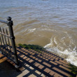River Thames Steps — Stock Photo