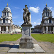 Grand Square at the Royal Naval College in Greenwich — Stock Photo