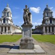 Grand Square at the Royal Naval College in Greenwich — Stock Photo #26008617