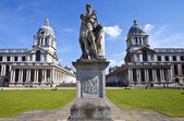 Royal Naval College in Greenwich, London — Stock Photo