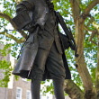 Mozart Statue in London — Stock Photo