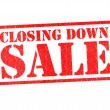 CLOSING DOWN SALE — Foto de stock #26876383