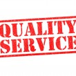QUALITY SERVICE — Stock Photo