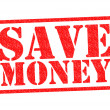 SAVE MONEY — Stock fotografie