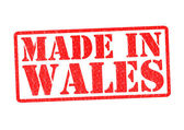 MADE IN WALES — Stock Photo