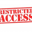 Stock Photo: RESTRICTED ACCESS