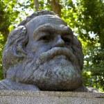 Постер, плакат: Karl Marx Bust in Highgate Cemetery