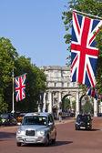 Die Mall und Admiralty Arch in london — Stockfoto
