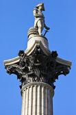 Nelson's Column in London. — Stock Photo