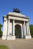 Wellington Arch in London — Stock Photo