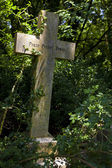 Highgate Cemetery in London — Stock Photo