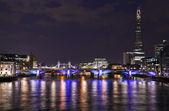 London View from the Millennium Bridge — Stock Photo