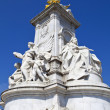 Victoria Memorial in London — Stock Photo