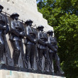 Guards Memorial at Horse Guards Parade in London — Stock Photo