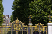 Royal Canada Gates and Green Park — Stock Photo