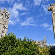 St John's Church and War Memorial in Glastonbury — Stock Photo #29808003