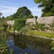 Stock Photo: Bishop's Palace Moat in Wells