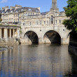 Pulteney Bridge and the River Avon — Foto Stock