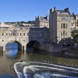 Pulteney Bridge and Weir in Bath — Stock Photo #29808257