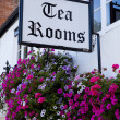 British Tea Rooms — Stock Photo