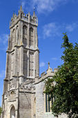 St John's Church in Glastonbury — Foto Stock