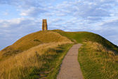 Glastonbury Tor — Stock Photo