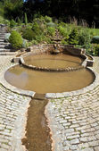 The Vesica Pool in the Chalice Well Gardens — Stock Photo