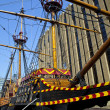 The Golden Hind Galleon Ship in London — Stock Photo