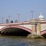 Blackfriars Bridge in London — Stock Photo