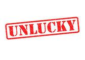 UNLUCKY — Stock Photo