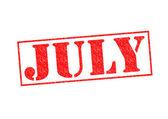 JULY — 图库照片