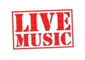 Musica dal vivo — Foto Stock
