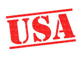 Usa rubberstempel — Stockfoto